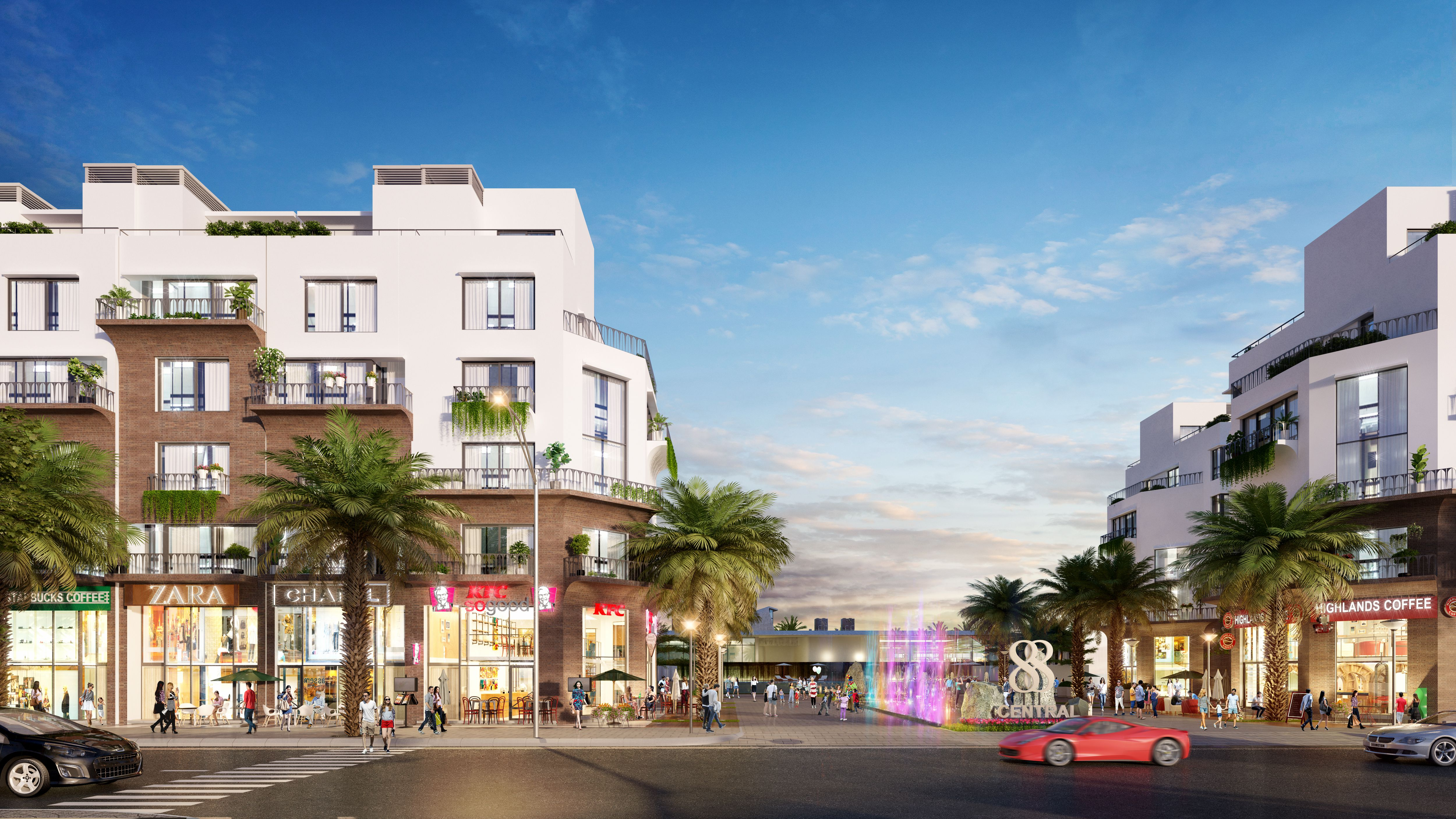 88 Central - Ha Noi Garden City
