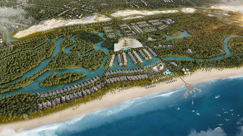 Sức hút của biệt thự nghỉ dưỡng ven biển Lagoona Bình Châu