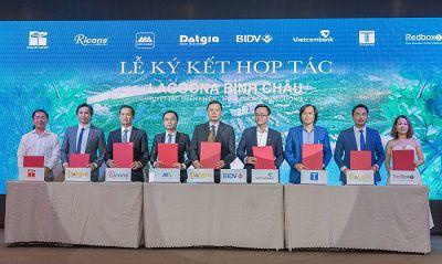 Redbox Việt Nam chính thức ký kết hợp tác chiến lược với chủ đầu tư Đạt Gia trong dự án Lagoona Bình Châu