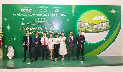 West Lakes Golf & Villas và Redbox Việt Nam chính thức ký kết hợp tác chiến lược tại sự kiện định hướng và Kick off sales